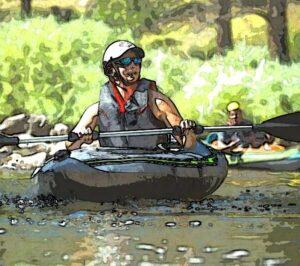 Kayaking at Tubing the Grand